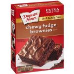 Duncan Hines Chewy Fudge Brownie Mix (American)